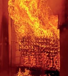 Fire Cladding Test