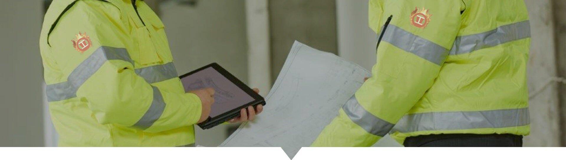 R Lewis on site survey